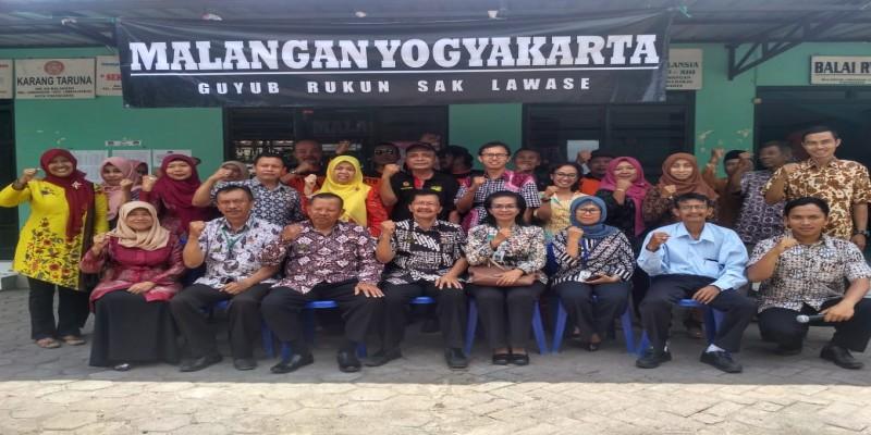 Kunjungan Tim Evaluasi Kampung Hijau Proklim ke Kampung Malangan