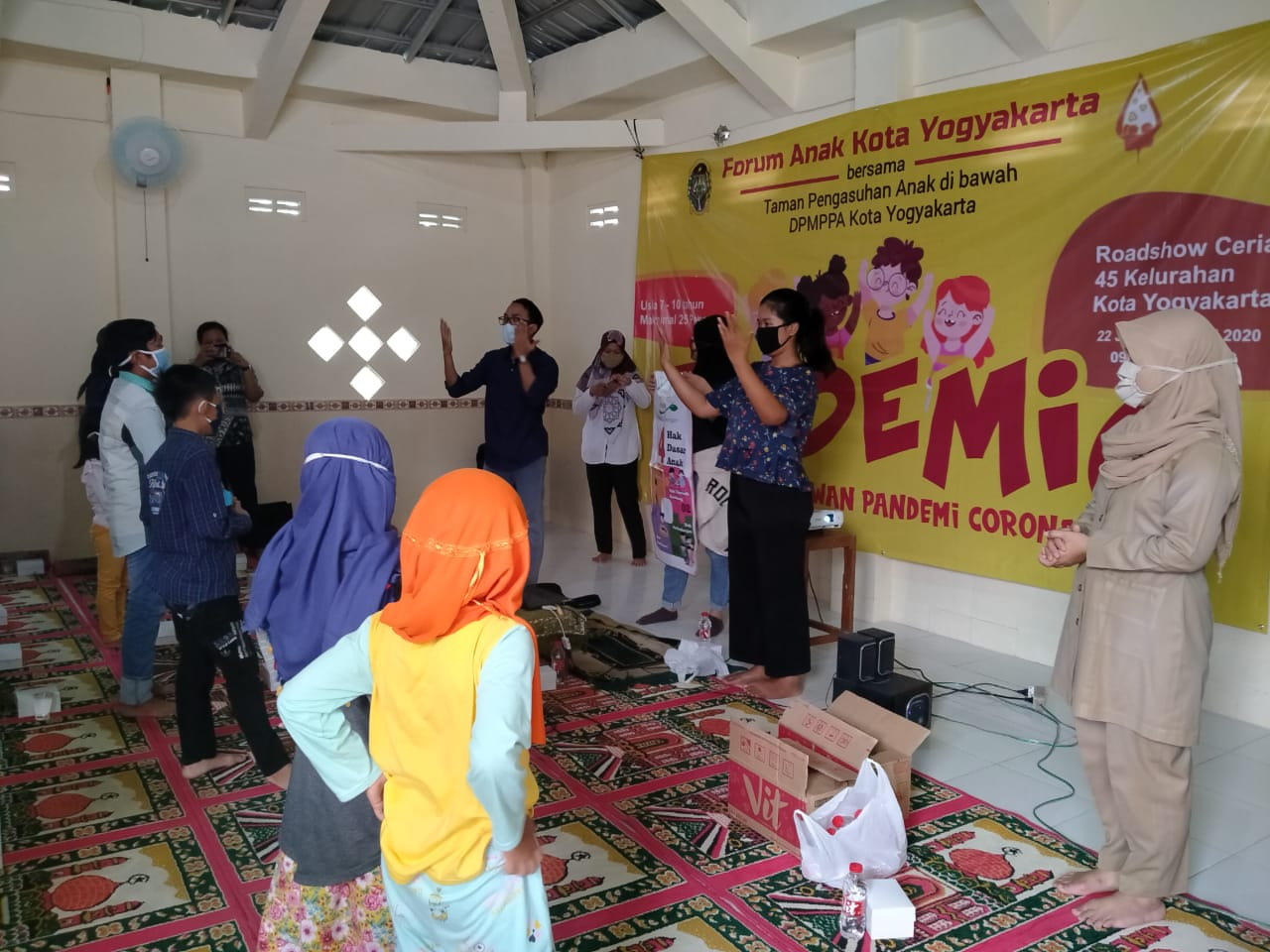 Sosialisasi Forum Anak KOta